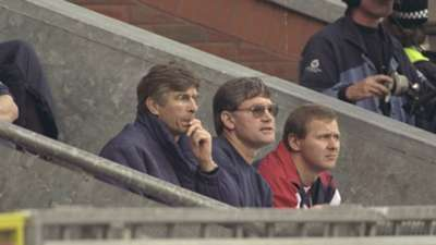 Arsene Wenger Arsenal Premier League October 1996