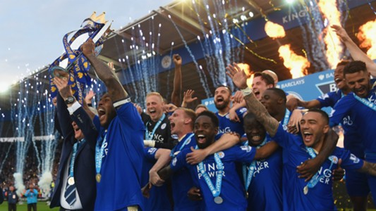 Leicester City Premier League 2015-16