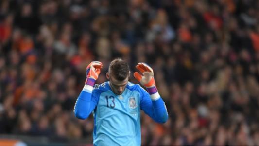 David De Gea Netherlands v Spain 310315