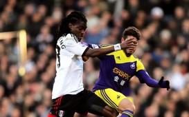 Derek Boateng Alejandro Pozuelo Fulham Swansea City Premier League 23112013