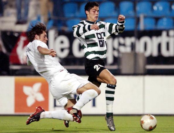 Cristiano Ronaldo - Sporting Portugal