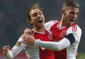 Eriksen and Alderweireld (Ajax)