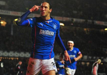 Bilel Mohsni Glasgow Rangers Dunfermline 11062013