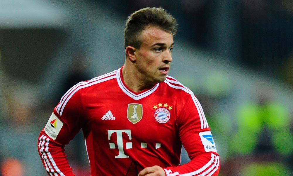 Xherdan Shaqiri Bayern Muenchen Bundesliga