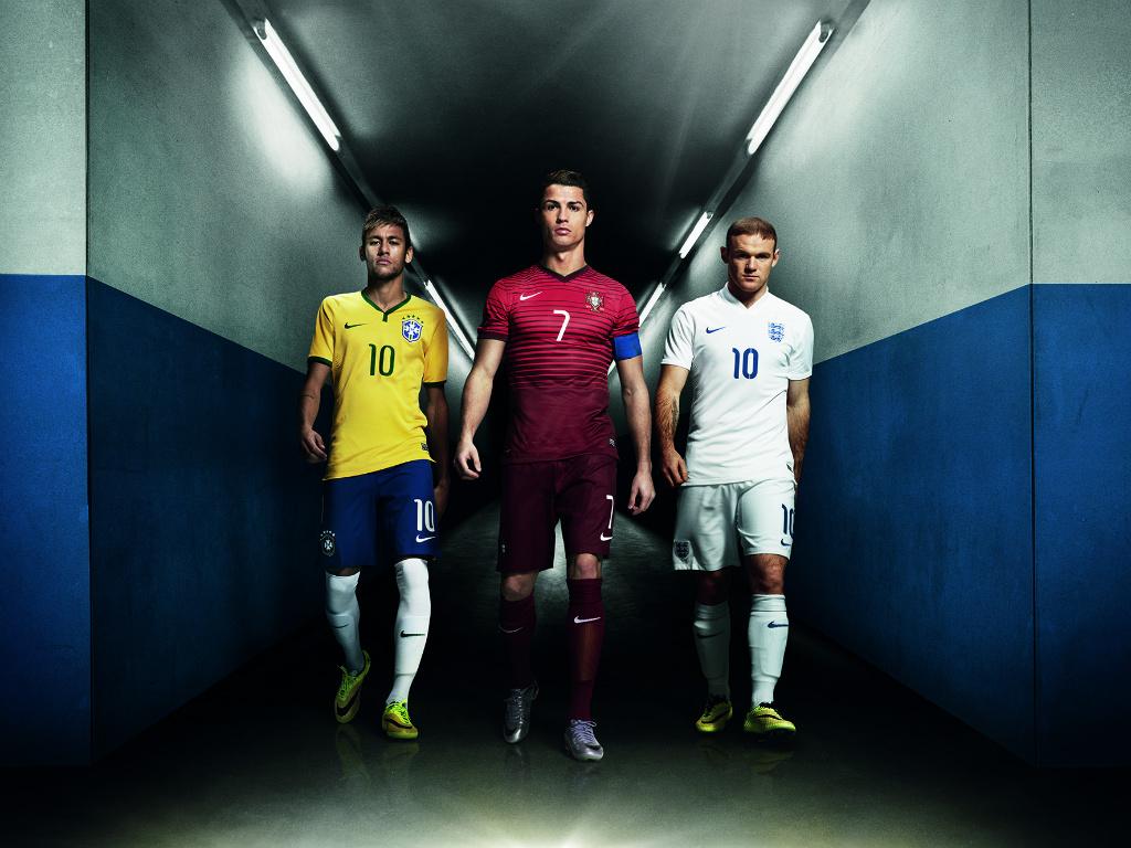 Wayne Rooney Cristiano Ronaldo Neymar Nike Risk Everything