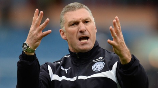 Nigel Pearson Burnley Leicester City 25042015