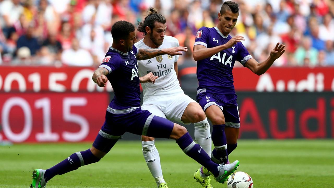 Kyle Walker; Gareth Bale Real Madrid; Erik Lamela Tottenham