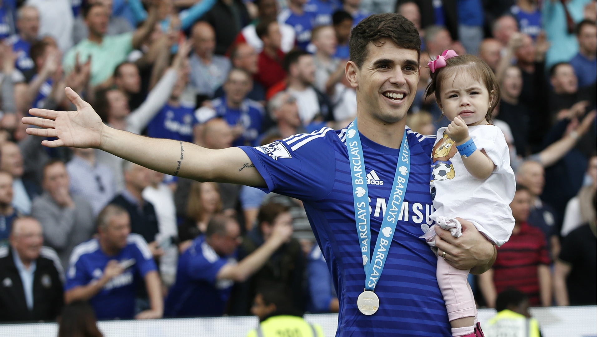 Oscar Chelsea Premier League 24052015