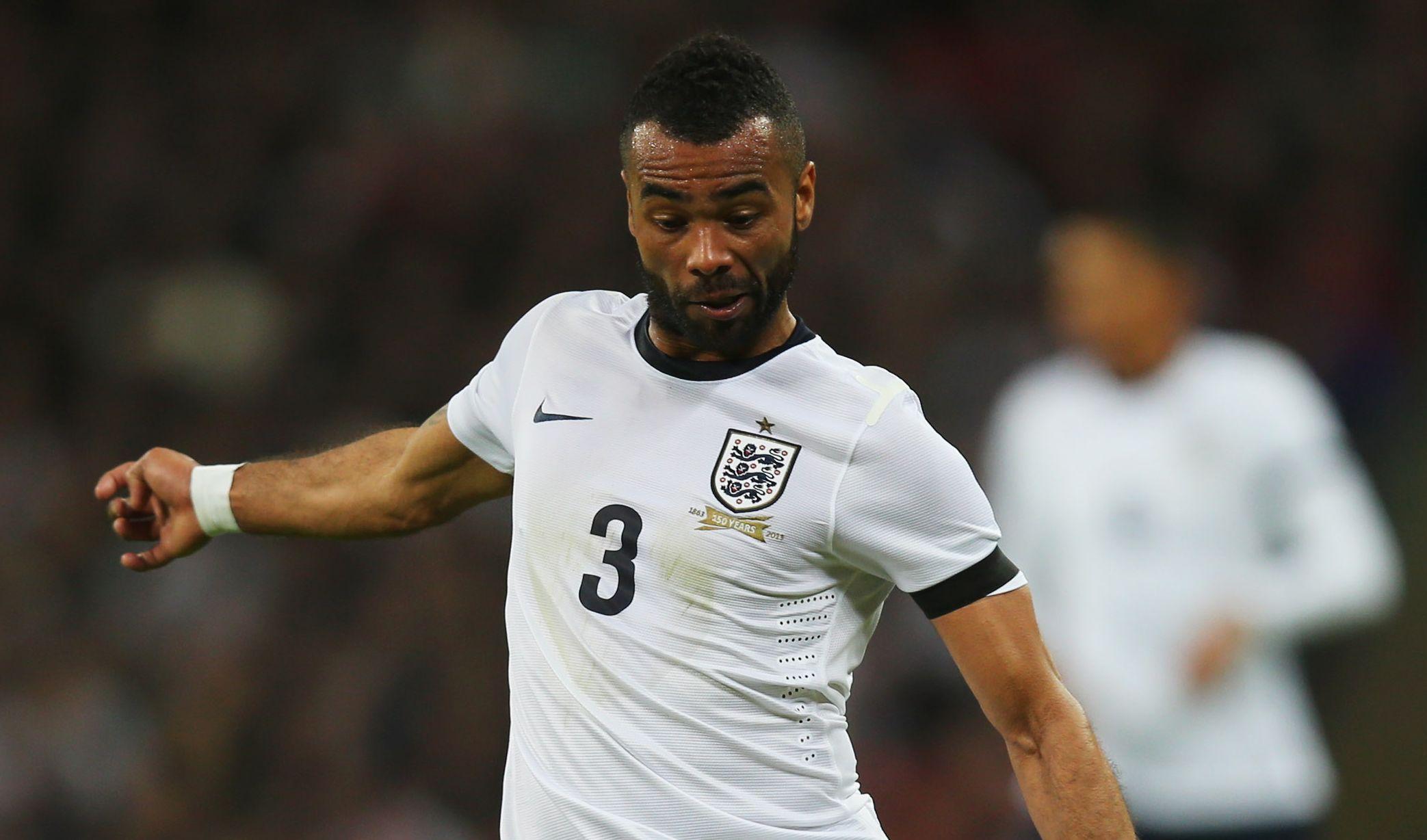 Former England left-back Ashley Cole