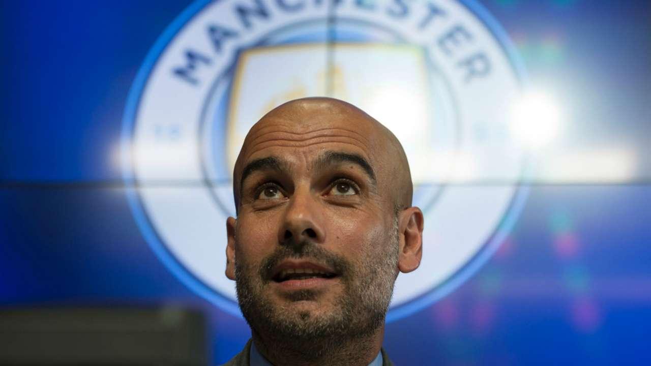 Pep Guardiola Manchester City Premier League 08072016