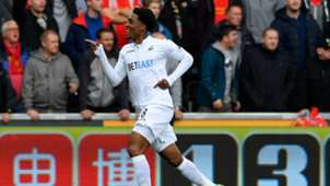 Leroy Fer Premier League Swansea v Liverpool 011016