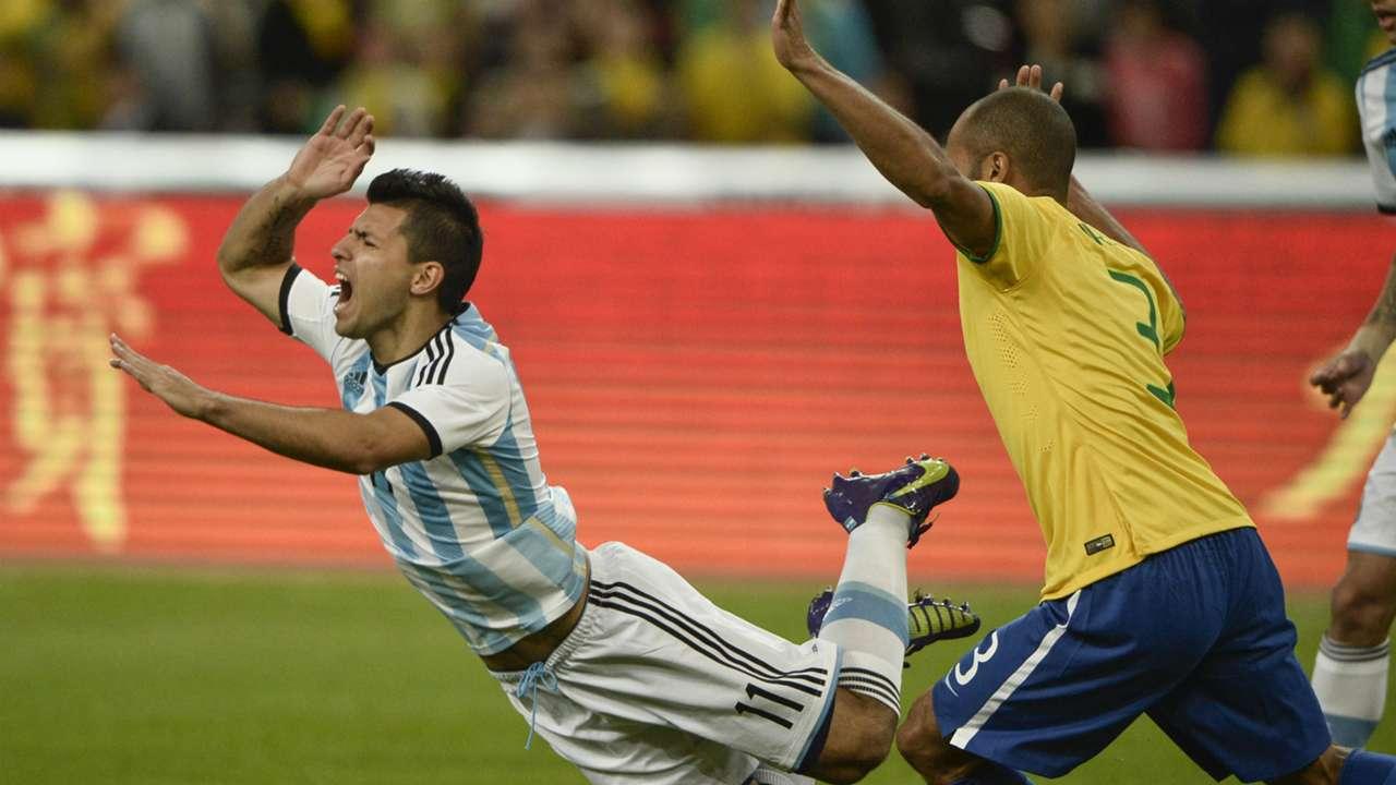 Sergio Aguero | Brazil v Argentina