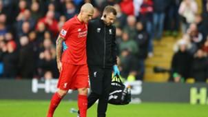 Martin Skrtel Premier League Watford v Liverpool