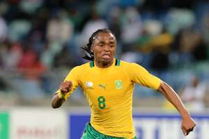 South Africa midfielder Siphiwe Tshabalala