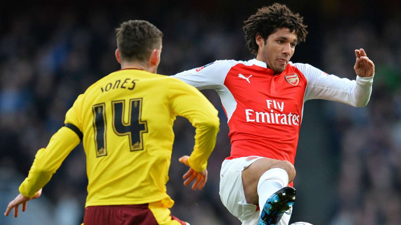Mohamed Elneny FA Cup Arsenal v Burnley
