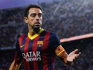 Xavi Hernandez Barcelona Sevilla La Liga 09142013