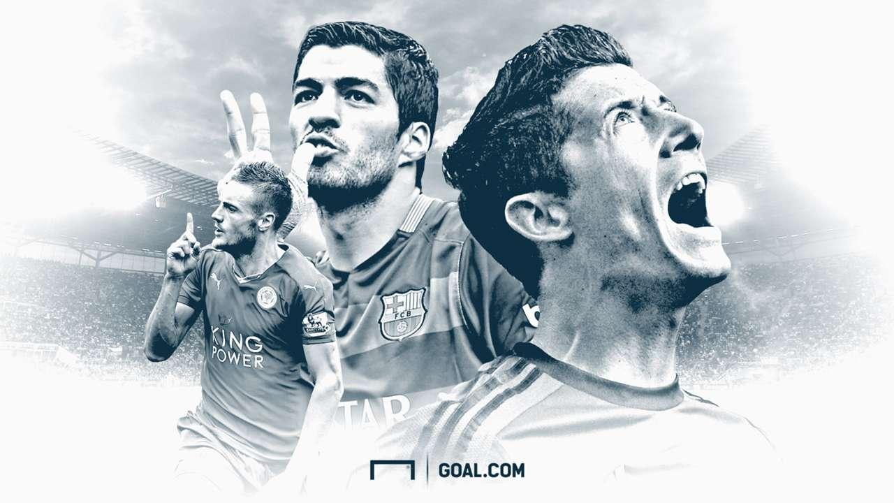 Top 20 goalscorers in Europe so far this season
