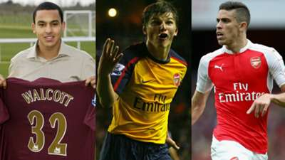 Arsenal January transfers collage