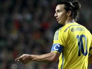 Zlatan Ibrahimovic Portugal Sweden WCQ 2014 11152013