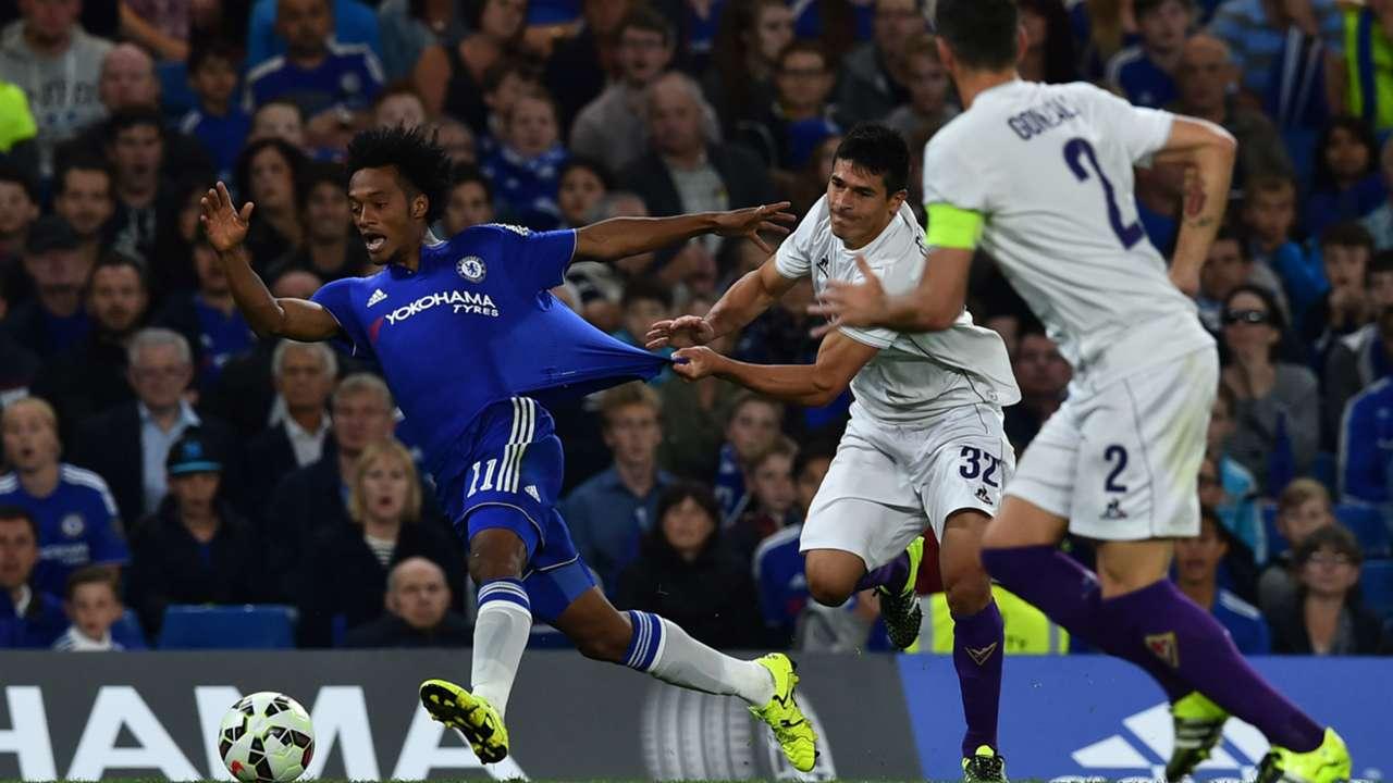 Juan Cuadrado Chelsea Fiorentina