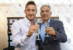 Francesco Totti, James Pallotta - Roma