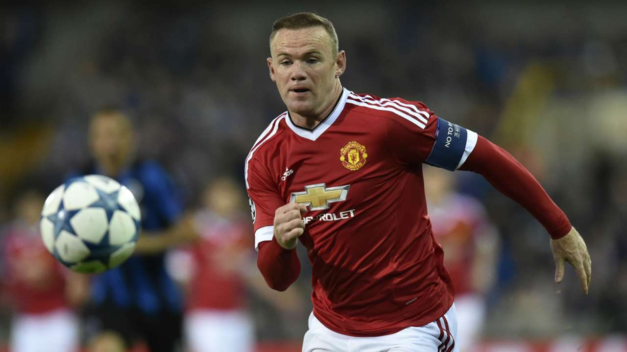 Wayne Rooney Champions League Club Brugge v Manchester United 260815