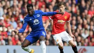 Romelu Lukaku, Everton, Manchester United
