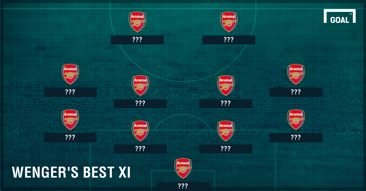 Wenger's Best Arsenal XI