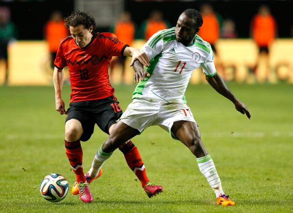 Andres Guardado Victor Moses Mexico Nigeria 05032014