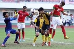Indonesia U-23 vs Malaysia U-23 SEA Games 2013