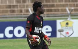 Kakamea Homeboyz goalkeeper John Waw.