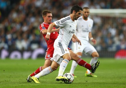 ISCO PHILIPP LAHM REAL MADRID BAYERN MUNICH CHAMPIONS LEAGUE 04232014