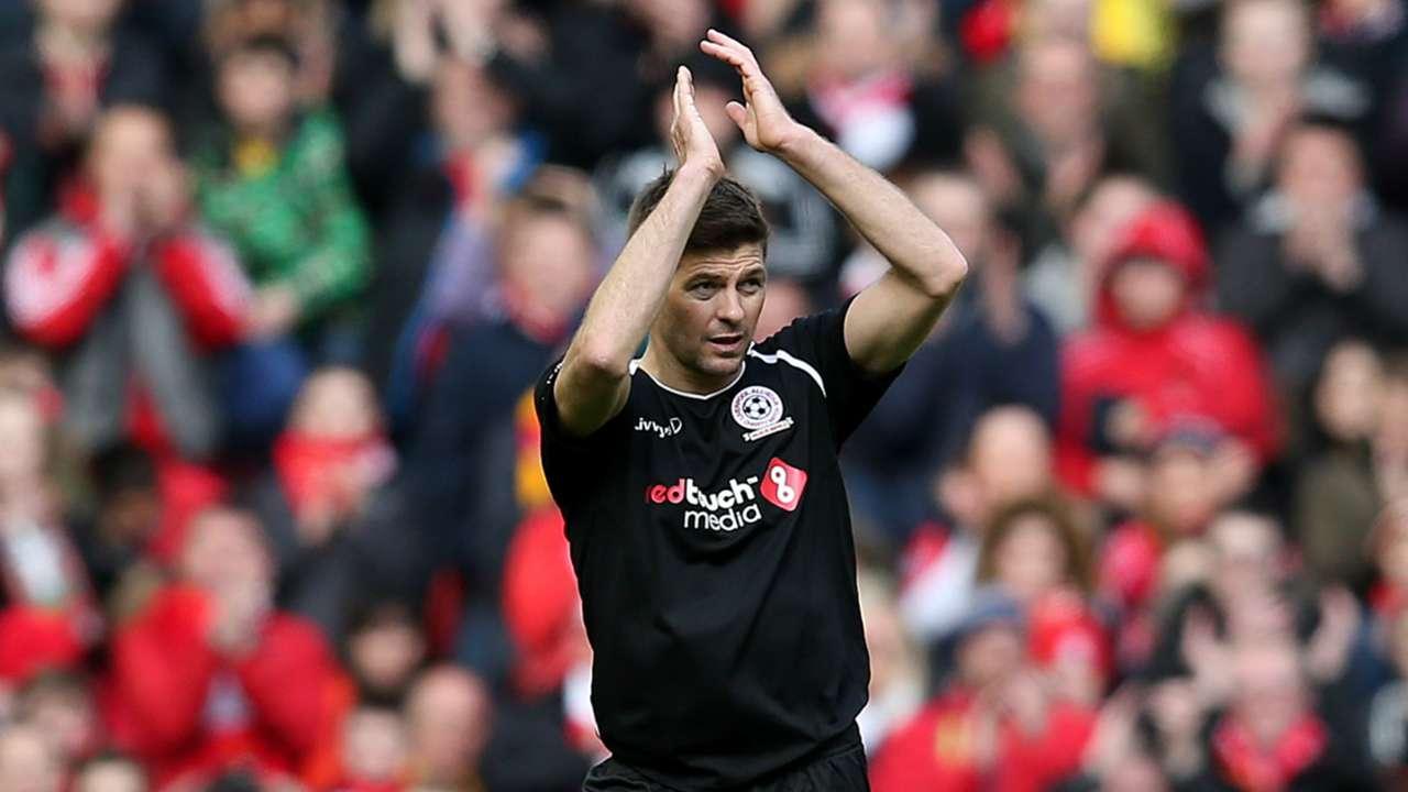 Steven Gerrard Liverpool Charity Match 29032015