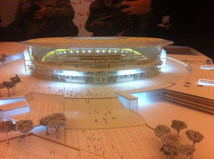 New Roma stadium plan