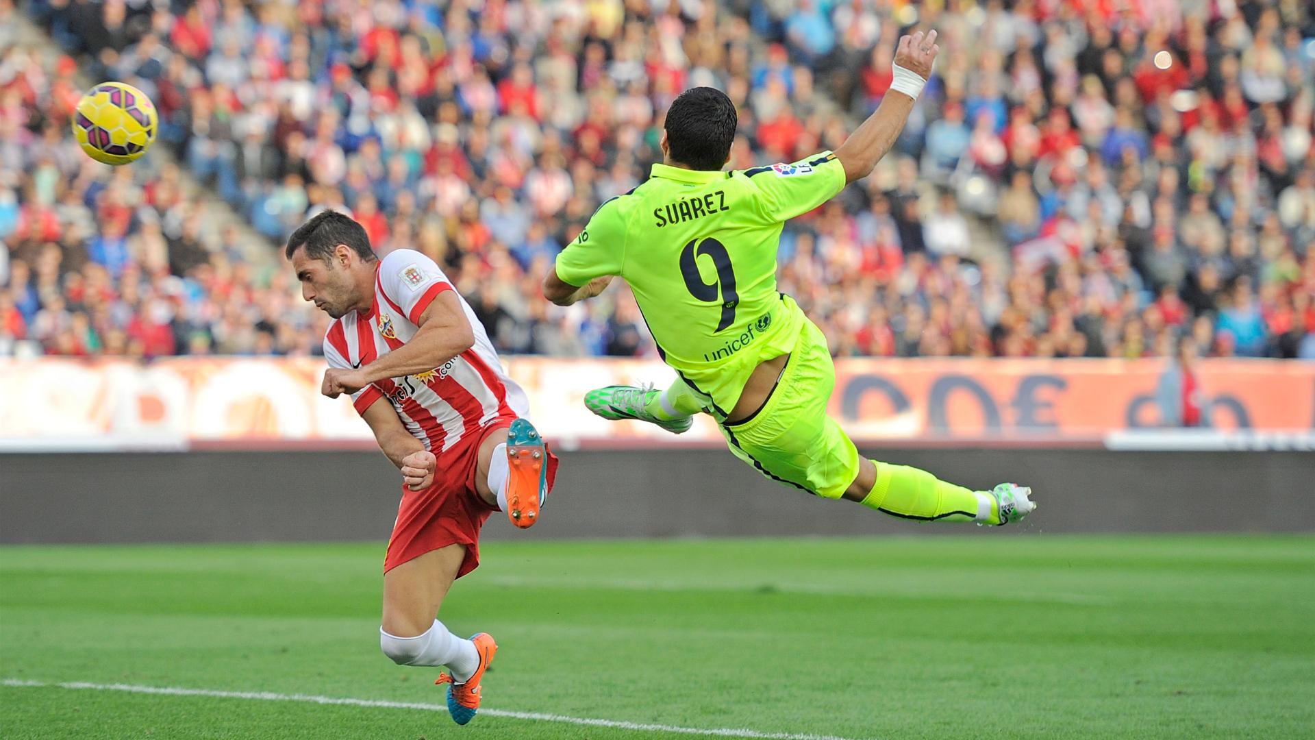 La Liga: Luis Suarez Barcelona La Liga