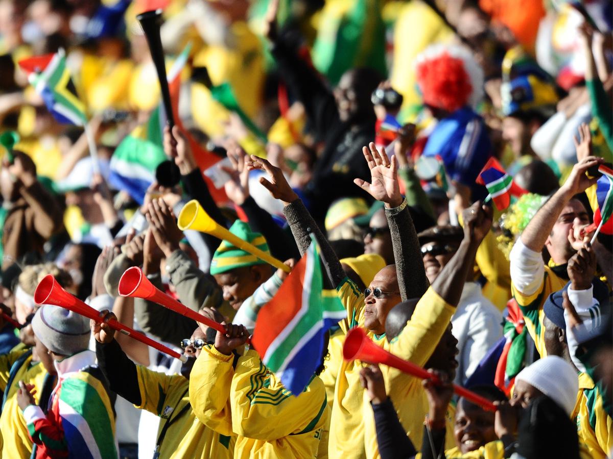 Caminho da Copa Vuvuzela Africa do Sul 2010