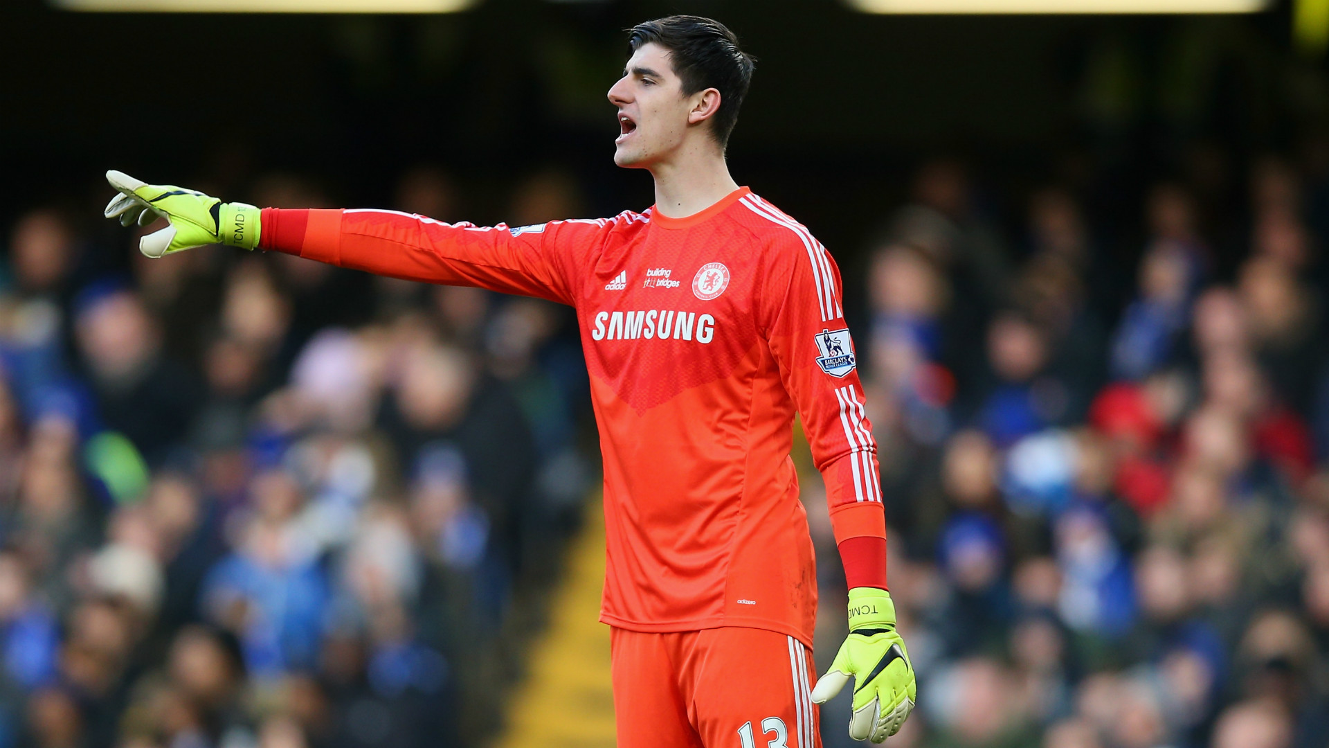 Thibaut Courtois Chelsea Premier League Goalcom