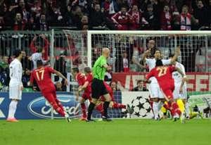 Franck Ribery Bayern Munich Real Madrid UEFA Champions League 04172012
