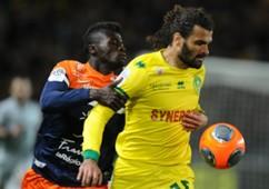 Osvaldo Vizcarrondo Mbaye Niang Nantes Montpellier Ligue 1 03222014