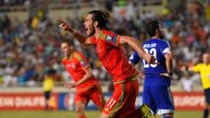 Gareth Bale Wales Cyprus 03092015
