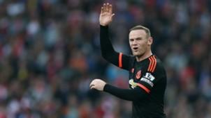 Wayne Rooney Arsenal Manchester United Premier League 04102015