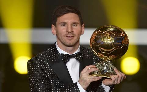 Lionel Messi - Fifa Ballon d'Or 2012