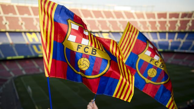 Flags FC Barcelona