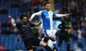 Alvaro Negredo Adam Henley Blackburn Rovers Manchester City FA Cup