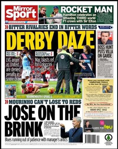 European Newspaper Review | Daily Mirror
