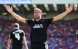 Wigan Athletic striker Grant Holt