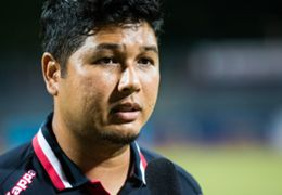 Home United assistant coach Aidil Sharin