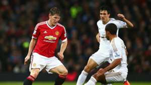 Bastian Schweinsteiger Premier League Manchester United v Swansea