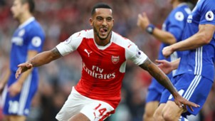 Walcott Arsenal Chelsea Premier League