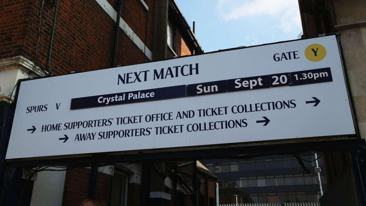 White Hart Lane before Tottenham - Crystal Palace